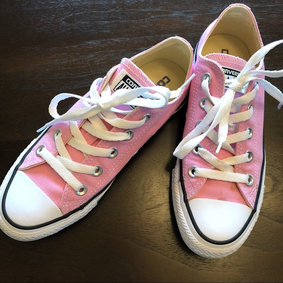 Pink Converse — Women's: size 5.5